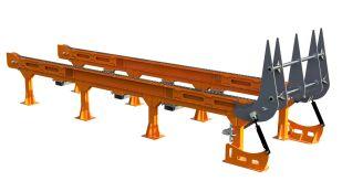 Heavy Duty Log Deck