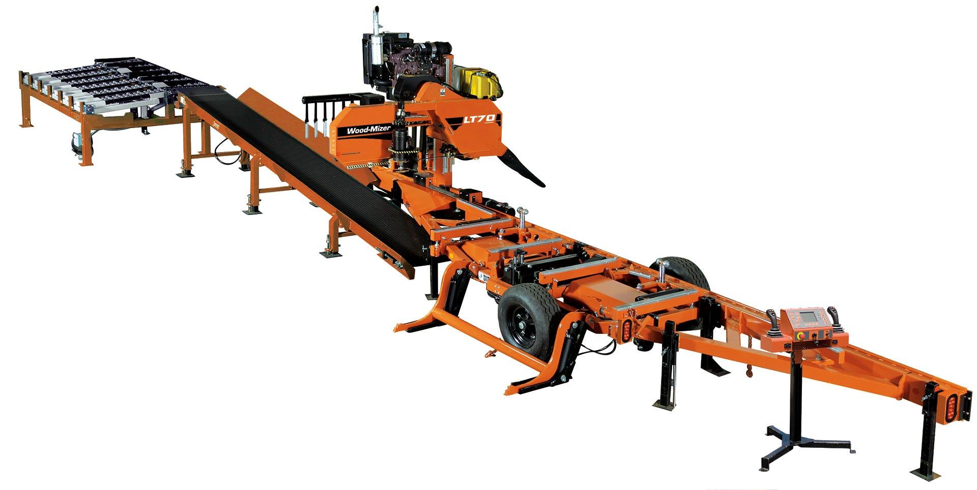 Wood-Mizer LT70 Remote Sawmill System